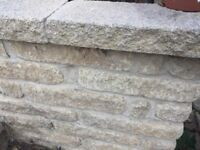 Cotswold Garden Walling, Large Quantity of Bricks - Manufactured Bricks