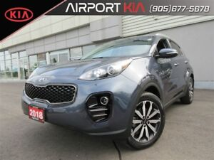 2018 Kia Sportage EX / leather seats / Android Auto Apple Car Pl