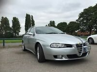 73300 MILES ! ALFA ROMEO 156 SW 1.9 M-JET 16V FACELIFT ! 6 SPEED GEARBOX !FULL SERVICE STAMPS! £1759