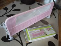 Lindam Easy Fit Pink Bed Rail / Bed Guard