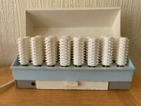 Retro heated rollers