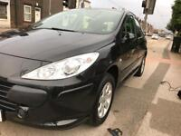 Peugeot 307 s full mot low mileage 59000 with service history