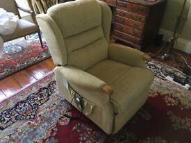 Dual motor, top of the range Sherbourne rise recliner chair