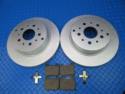 Maserati Quattroporte rear brake pads & rotors smooth TopEuro #8546