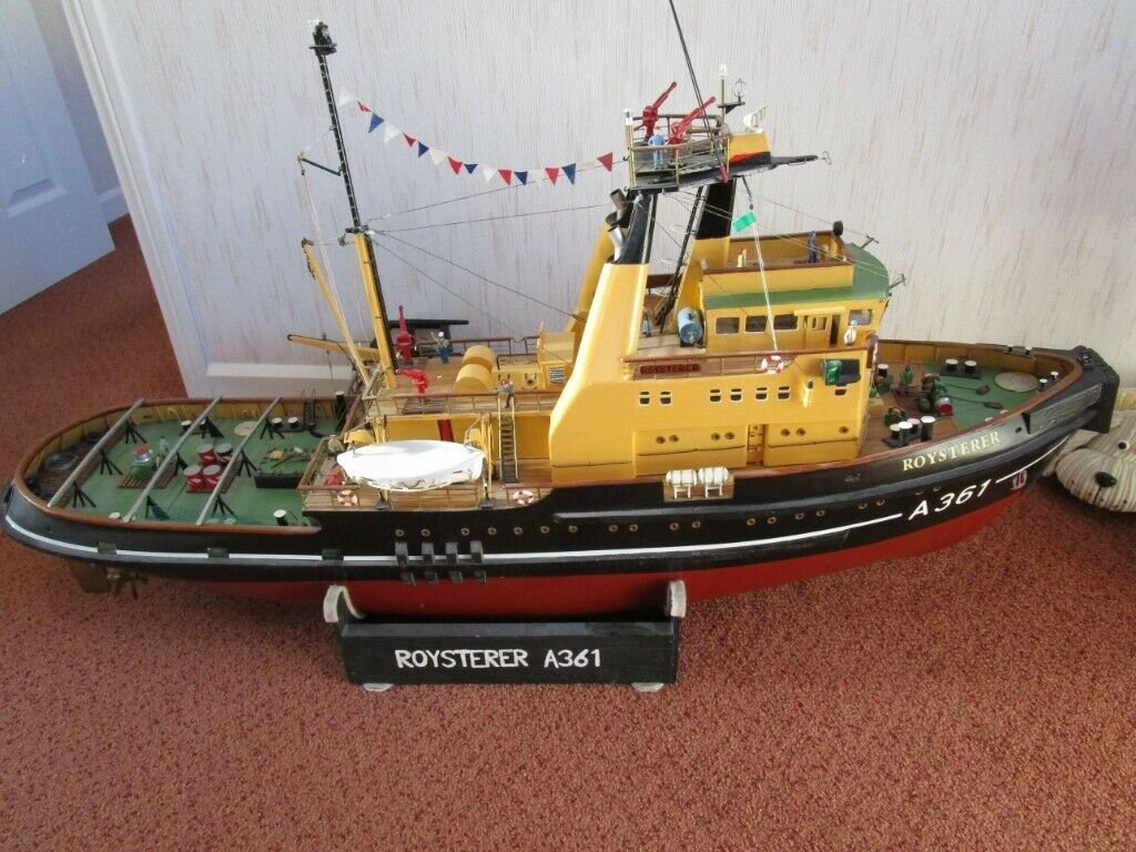 radio control model rc boat roysterer tug large | in Southmead, Bristol |  Gumtree