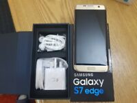 Samsung Galaxy S7 EDGE - 32GB - GOLD (Unlocked) Smartphone
