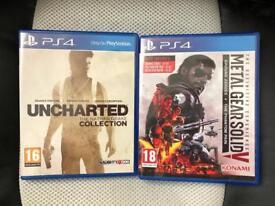 2 PS4 Games.