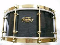 "WorldMax Vintage Classic maple-ply snare drum - 14 x 6 1/2"" - early model"