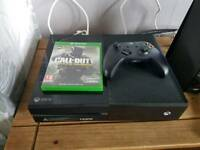 Xbox 500gb with game QUICK SALE