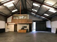 Large warehouse to let in Bedminster, Bristol - 12 month lease or event space