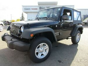 2016 Jeep Wrangler SPORT 3.6l V6 SIX SPEED / TRACTION CONTROL