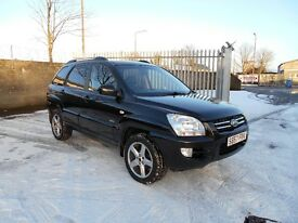 2007 KIA Sportage 2.0 Titan 4WD 5dr Only 1 Owner From New