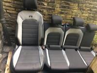 Vw golf mk7 R full Set Cloth Seats 3dr