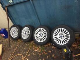 "Ford alloy wheels 16"""