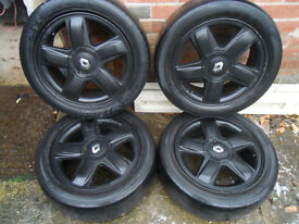 """Renault Clio 15"""" Alloy Wheels With Tyres 185/55/15"""