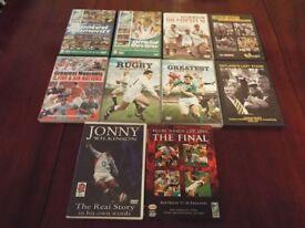 Rugby DVD bundle - 10 Titles