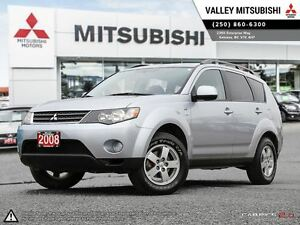 2008 Mitsubishi Outlander LS-V6, HEATED SEATS, ALL WHEEL DRIVE,