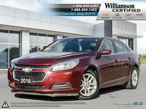 2016 Chevrolet Malibu LT**SUNROOF**RMT START**BCK UP CAM
