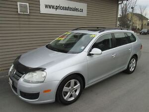 2009 Volkswagen Jetta HEATED LEATHER - FULL GLASS ROOF!!!