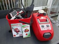 POLTI Vaparetto 2400 Steam cleaner. (FOR PARTS OR REPAIR) INCLUDES ALL TOOLS