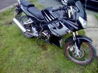 Learner legal 125cc road bike