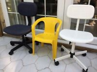 Childrens Chairs (3 off)