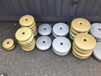 Vinyl Weight lifting plates