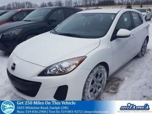 2013 Mazda MAZDA3 GX HATCHBACK! AUTOMATIC! POWER PACKAGE! AIR CO
