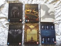 Game of Thrones seasons 1-6 DVD. The complete collection.
