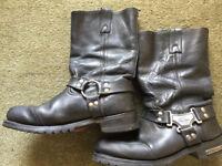Milwaukee leather boots