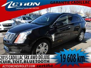 2015 CADILLAC SRX AWD LUXURY TOIT PANO,CUIR,BLUETOOTH