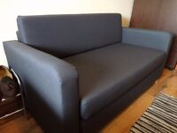 Ikea Sofa bed blue. Used only a few months