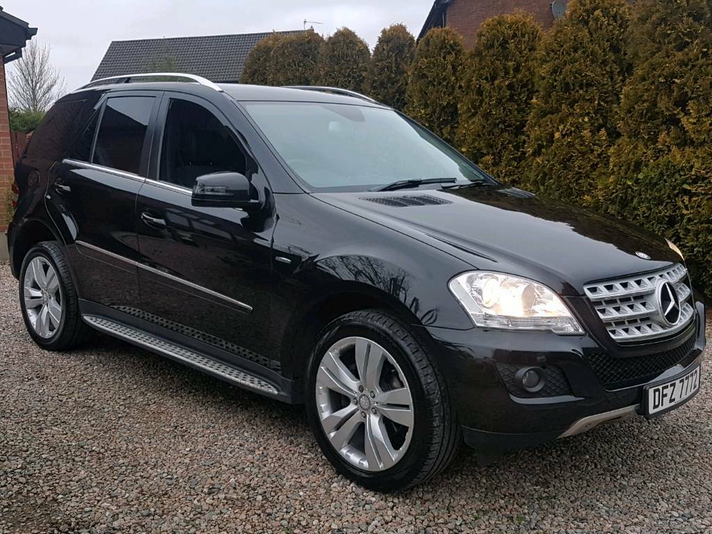 2010 mercedes ml350 cdi blueefficiency sport auto 230bhp diesel 4matic 4x4 ml320 x3 x5 ml 350. Black Bedroom Furniture Sets. Home Design Ideas
