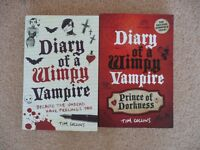 Diary of a Wimpy Vampire Books