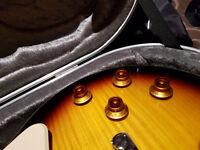Epiphone Les Paul Standard Pro II Plustop Guitar with New Hiscox Hardcase