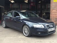 """+ 2008 AUDI A6 2.7 TDI S LINE AUTOMATIC +LEATHER HEATED SEATS +19"""" BBS ALLOYS + SWAPS + PX WELCOME +"""