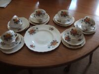 Royal Vale Bone China Tea Set. Pattern No. 8215
