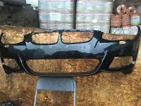 BMW 3 SERIES E92/93 LCI M SPORT FRONT BUMPER IN BLACK HAS NO PDC BUT HOLE MARKINGS FOR IT HAS H/L/W