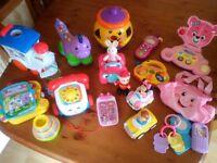 Baby / toddler bundle of toys