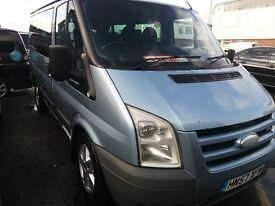 FORD TRANSIT TOURNEO 9 SEATER MINIBUS 2.2 DIESEL WITH ANOTHER ENGINE FITTED 80k ON THIS ENGINE