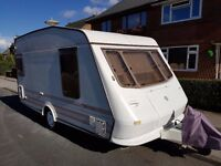 CARAVAN ELDDIS VOGUE 914L 1998 YEAR WITH MOTOR MOVER, AWNING AND FULL EQUIPMENT