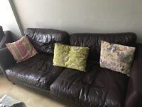 3 piece leather suite (3+2+1)