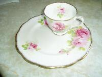 cup and lunch plate