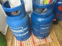 2Calor 7kg Empty Gas Bottle,s Caravan size £20