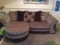 4 seater soda with scatter back cushions
