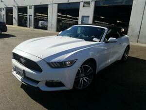 2017 Ford Mustang PREMIUM CONVERTIBLE ECOBOOST CUIR MAGS A VENIR