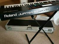 Roland jupiter 50 with flight case