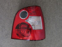 VW Volkswagen Polo 1.2 MK4 (51 to 05 reg) Rear Tail Light Driver / Right/ Off Side6Q6945258A