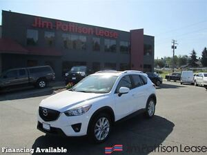 2014 Mazda CX-5 GT w/leather, nav, roof