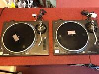 Technics Quartz SL-1210MK2 Pair